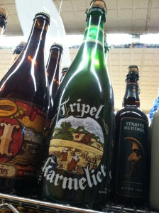 The Belgian Tripel Karmeliet at the Assocated
