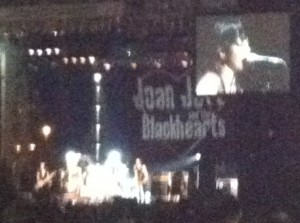 Joan Jett's epic free show at Coney Island last summer.